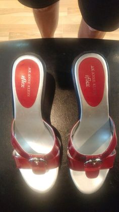 4103964d665c Women s- Anne Klein-Iflex-Wedge Sandles-Red-Size 7M-NIB-FREE SHIPPING!   fashion  clothing  shoes  accessories  womensshoes  sandals (ebay link)