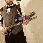 Steampunk Proton Gun by J-Bird2005