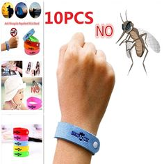Anti Mosquito Bracelet for Kids, Adults, Pets - Mosquito Repellent Bracelet - Set of 6 Natural Lavender Waterproof Bracelets + 1 Pack Mosquito Repellent Patches - Summer Insect Protection Bands Insect Repellent Spray, Mosquito Repellent Bracelet, Mosquito Killer, Anti Mosquito, Natural Disasters, Kids House, Chemistry, Brand Names, Eco Friendly
