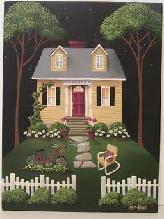Catherine Holman Folk Art                                                                                                                                                      More