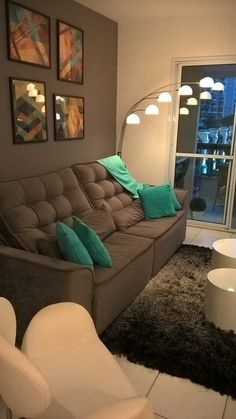 Home Room Design, Home Interior Design, Living Room Designs, House Design, Bedroom Designs, Home Living Room, Living Room Decor, Sala Grande, House Rooms