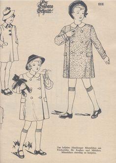 1941 Lutterloh Book Golden Schnitte Patterns Sewing