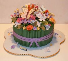 Cake Pictures Flower Edible Bouquets Gift Bouquet Garden Cakes