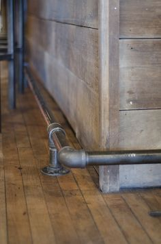 pipe foot rail - Google Search