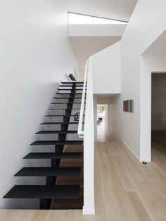 97 Most Popular Modern House Stairs Design Models 14 Steel Stairs Design, Home Stairs Design, Interior Stairs, House Design, Architecture Design, Stairs Architecture, Minimalist Architecture, Loft Stil, Style Loft