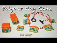 Seascape Scenic Millefiori Cane Design for polymer clay by Monica Resta