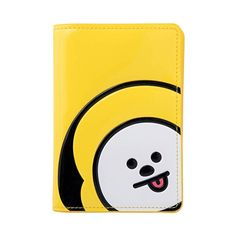 Cute Dog Funny With Glasses Watercolor Blocking Print Passport Holder Cover Case Travel Luggage Passport Wallet Card Holder Made With Leather For Men Women Kids Family