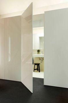 Best Ideas for hidden door modern entrance Warehouse Living, Warehouse Design, Wardrobe Interior Design, Interior Door, Design Bedroom, Bathroom Interior, Casa Feng Shui, Home Engineering, Modern Entrance