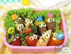 fruit friends bento box