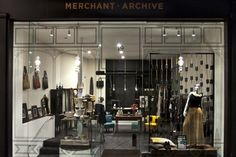 10 London Vintage Stores That NEED To Be On Your Radar #refinery29  http://www.refinery29.com/london-vintage-shopping#slide-8  The Merchant Archive Boutique — Founder Sophie Merchant ditched a career in dental hygiene back in 2007 to set up Merchant Archive  — and frankly, we couldn't be more grateful. Merchant Archive recently upgraded to new digs just off Portobello, but the boutique has retained its status as London's premium dressing-up box. In addition to the '30s dancing-girl…