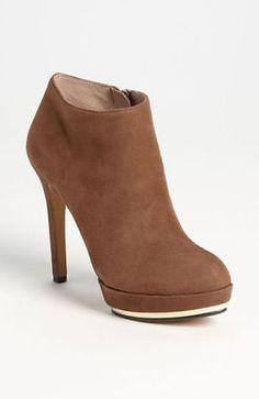 ae6f7953d2de Vince-Camuto-bootie-heel-camel-suede-leather-BNIB-