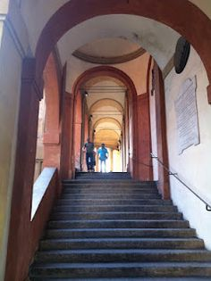 """""""It's a long walk, and I complained the whole way but when you get to the end.it's phenomenal"""" - """"San Luca the Great"""" by Bologna Italy, My Town, Cool Photos, Stairs, Places, Stairway, Staircases, Ladders, Lugares"""