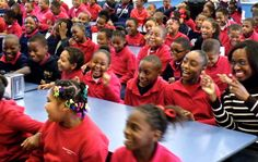 Timmy Abell • Audience at George Hall Elementary School, Mobile,...