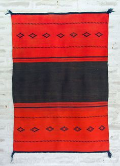 Arts of the American West | Classic Navajo Woman's Dress Panel - The Curator's Eye