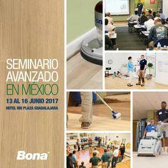 Nos complace anunciar que desde el 13 al 16 de #junio nuestros amigos de @bonamex dictaran un seminario avanzado de instalación, lijado y acabados para #pisosdemadera en la ciudad de #Guadalajara para mas información continua conectado a nuestras redes.
