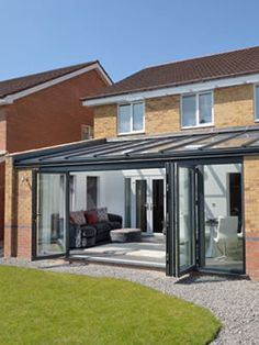 Contemporary Glass Extensions Abergavenny