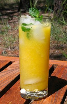 Mango Mojito | Rum Therapy | Tropical Travel Guide