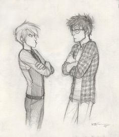 Draco and Potter… :D