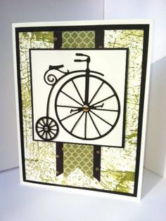 Memory Box Vintage Bicycle Die by bizzy32765 - Cards and Paper Crafts at Splitcoaststampers