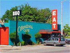 """The longest continually family-owned Oklahoma restaurant on Route 66, Clanton's Café has been featured on the Food Network show """"Diners, Drive-Ins, and Dives"""" & in Gourmet Magazine for its outstanding chicken fried steak."""