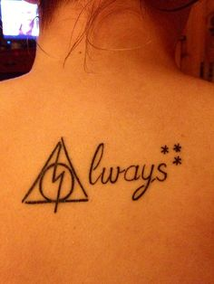 Harry Potter Tattoo. This is awesome!