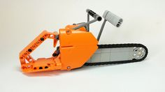 Lego Technic Chainsaw (updated version)   This updated versi…   Flickr - Photo Sharing!