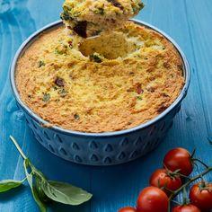 Veja esta de Receita de Pudim de peixe. Esta e outras deliciosas receitas no site de nestlé Cozinhar.