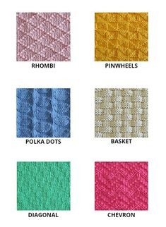 Knitting Stiches, Loom Knitting, Knitting Patterns, Knit Stitches, Knitting Ideas, Knitting Projects, Embroidery Stitches, Crochet Stitches For Beginners, Knitting For Beginners