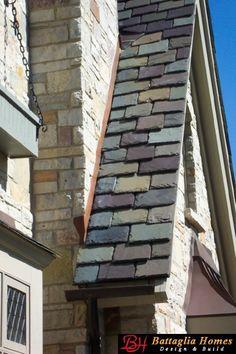 Slate Roof Detail
