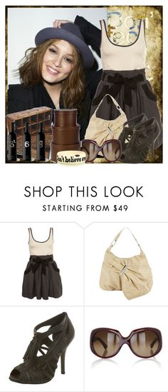 """Old Draft No.4"" by gocagaga ❤ liked on Polyvore featuring Annie Greenabelle, Fiorelli, Fendi and Jessica Kagan Cushman"