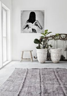 Quality Posters, Prints, Cool Photo Art and Home Deco ~ Love Warriors Interior Styling, Interior Decorating, Decorating Ideas, Fiddle Leaf Fig Tree, Fiddle Fig, Turbulence Deco, Love Warriors, Interior Minimalista, Home And Deco