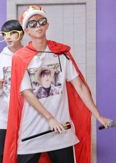 All hail king kim namjoon