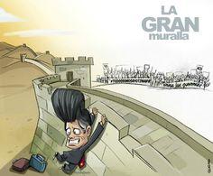 REALIDAD ALTERNATIVA: La gran muralla
