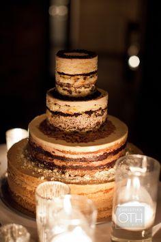 please tell me this is a tiramisu naked cake…