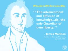 #HappyBirthday James Madison on this #FreedomOfInformationDay: Manage your info w/ #mySocialSecurity www.ssa.gov/myaccount/
