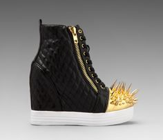 Jeffrey Campbell wedge with spikes