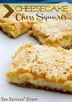 Cheesecake Chess Squares