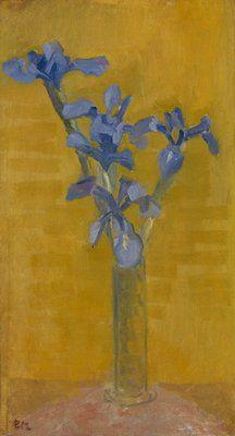 Irises, Piet Mondrian ^ Minneapolis Institute of Art