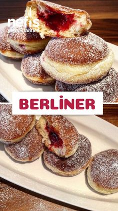 Berliner Tarifi nas l yap l r 1 259 ki inin defterindeki Berliner Tarifi nin resimli anlat m ve deneyenlerin foto raflar burada Yazar caggifood Baking Recipes, Cookie Recipes, Dessert Recipes, Easter Recipes, Good Food, Yummy Food, Delicious Recipes, Gula, German Recipes