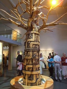 Somerset Tree, carved tree Accent Furniture, Rustic Furniture, Furniture Decor, Tree Carving, Carving Wood, Wood Carvings, Whittling, Wood Art, Wedding Decorations