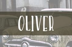 Check out Oliver- HandDrawn Font by DrawBabyDraw on Creative Market