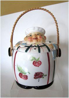 Vintage Cookie Jars For Sale Retro Vintage Hall Flare Ware Cookie Jar Atomic Era Mint Gold Trim