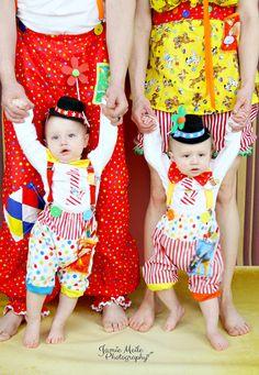 Chicos circo traje los niños traje de payaso por MYSWEETCHICKAPEA