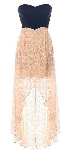 Hermoso vestido con encaje