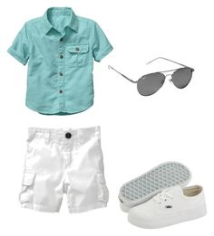 """""""Baby Boy Fashion!"""" by jazminmarie ❤ liked on Polyvore featuring Gap, Old Navy and Vans"""