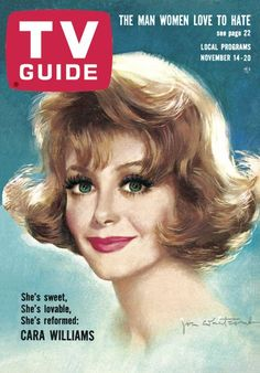 TV Guide, November 14, 1964 - Cara Williams