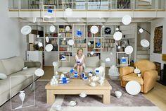 Cerise Doucède y sus fotos con objetos suspendidos