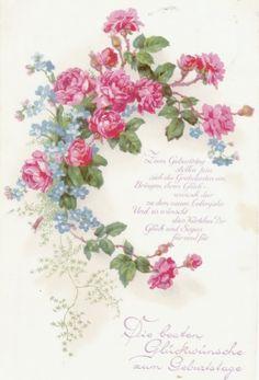 Decoupage, Furniture Restoration, Rose Design, Vintage Images, Vintage Prints, Clip Art, Printables, Art Prints, Tableware