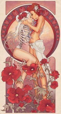 Beautiful piece by FFO http://ffoart.tumblr.com/