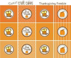 thanksgiving owl printables